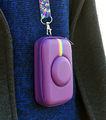 Polaroid Schutzhülle aus Silikon für Polaroid Snap & Snap Touch Instant-Print-Digitalkamera (Rot) -