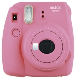 Fujifilm Instax Mini 9 Kamera flamingo rosa -