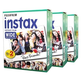 Fuji Fujifilm Instax Wide Instant Photo 60 Film for Instax Wide 210 200 100 300 Camera -