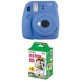 Fujifilm Instax Mini 9 Kamera cobalt blau mit Film -