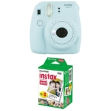 Fujifilm Instax Mini 9 Kamera ice blau mit Film -