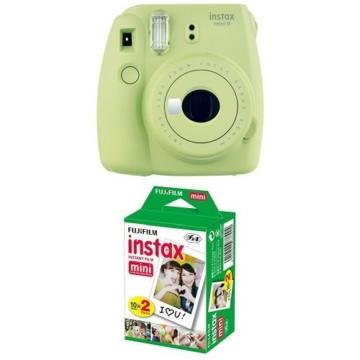 Fujifilm Instax Mini 9 Kamera lime grün mit Film -