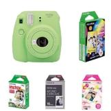 Fujifilm Instax Mini 9 Kamera lime grün mit Film Box -