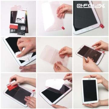 Fujifilm Instax Square SQ10 Displayschutzfolie - 3 x atFoliX FX-Antireflex blendfreie Schutzfolie -