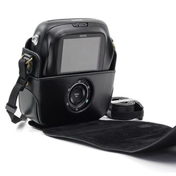 paracity Retro PU Leder Kamera Schutzhülle für Fujifilm Instax Square SQ10Hybrid sofort mit verstellbarem Schulterriemen - 3