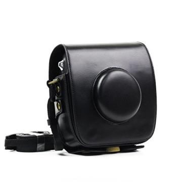 paracity Retro PU Leder Kamera Schutzhülle für Fujifilm Instax Square SQ10Hybrid sofort mit verstellbarem Schulterriemen - 5