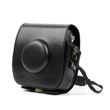 paracity Retro PU Leder Kamera Schutzhülle für Fujifilm Instax Square SQ10Hybrid sofort mit verstellbarem Schulterriemen - 6