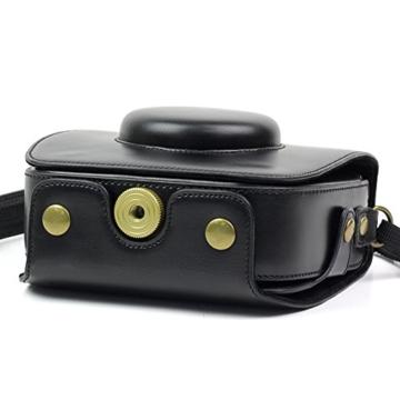 paracity Retro PU Leder Kamera Schutzhülle für Fujifilm Instax Square SQ10Hybrid sofort mit verstellbarem Schulterriemen - 7