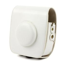 TaiYaun Kameratasche für Fujifilm Instax SQUARE SQ 10 Premium Kunstleder Schutzhülle (Weiß) - 1