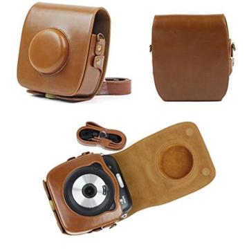 TaiYaun Kameratasche Fujifilm Instax SQUARE SQ 10 (Braun) - 2