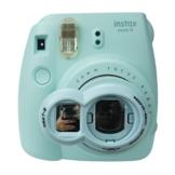 Anter Close Up Objektiv mit Instax Selfie Objektiv für Fujifilm Instax Mini 9 Mini 8 Mini 8+ Mini 7s Instant Film Kamera - Acht Blau - 1