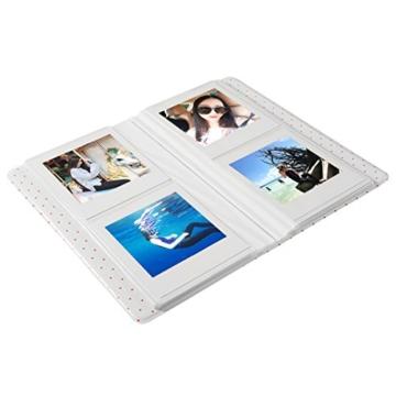 CAIUL Mini Foto Album Für Fujifilm Instax Square SQ10 Film (64 Fotos,Blau) - 3