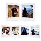 CAIUL V Modell Clear Acryl Fotorahmen für Fujifilm Instax Square SQ10 Instant Film, 3 Stück - 1