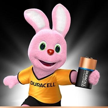Duracell High Power Lithium CR2 Batterie 3V, 2er-Packung (CR15H270) entwickelt für die Verwendung in Sensoren, schlüssellosen Schlössern, Blitzlicht und Taschenlampen. - 2