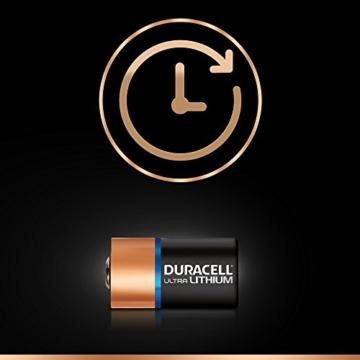 Duracell High Power Lithium CR2 Batterie 3V, 2er-Packung (CR15H270) entwickelt für die Verwendung in Sensoren, schlüssellosen Schlössern, Blitzlicht und Taschenlampen. - 3