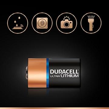 Duracell High Power Lithium CR2 Batterie 3V, 2er-Packung (CR15H270) entwickelt für die Verwendung in Sensoren, schlüssellosen Schlössern, Blitzlicht und Taschenlampen. - 4