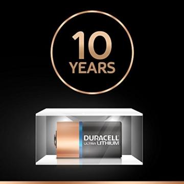 Duracell High Power Lithium CR2 Batterie 3V, 2er-Packung (CR15H270) entwickelt für die Verwendung in Sensoren, schlüssellosen Schlössern, Blitzlicht und Taschenlampen. - 5