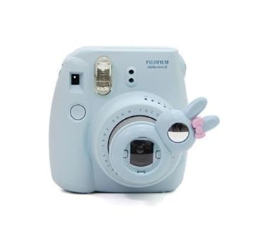 Flylther 8 in 1 Fujifilm Instax Mini 8 8+ 9 Kamera Zubehör Bundles Set - Blume(Kameratasche/ Album/Selfie Objektiv/6 Farbige Filter Linse/Wand Hängen Bilder/Bunt Film Frames/Film Aufkleber/DIY Film Aufkleber) - 4