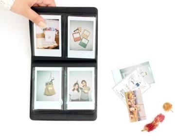 Flylther 8 in 1 Fujifilm Instax Mini 8 8+ 9 Kamera Zubehör Bundles Set - Blume(Kameratasche/ Album/Selfie Objektiv/6 Farbige Filter Linse/Wand Hängen Bilder/Bunt Film Frames/Film Aufkleber/DIY Film Aufkleber) - 7