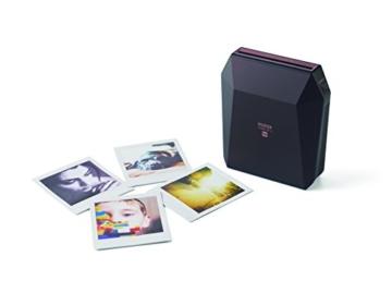 Fuijifilm Instax Share SP-3 Drucker (mit WiFi, geeignet für Sofortbildkamera) schwarz - 11