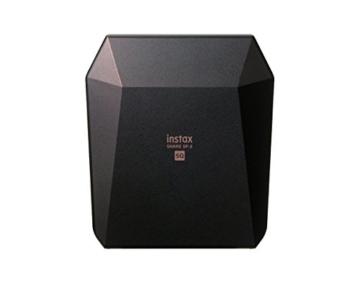 Fuijifilm Instax Share SP-3 Drucker (mit WiFi, geeignet für Sofortbildkamera) schwarz - 3