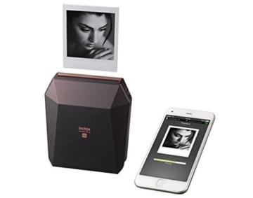 Fuijifilm Instax Share SP-3 Drucker (mit WiFi, geeignet für Sofortbildkamera) schwarz - 4