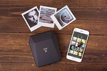 Fuijifilm Instax Share SP-3 Drucker (mit WiFi, geeignet für Sofortbildkamera) schwarz - 5