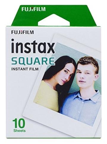 Fujifilm Instax Square Sofortbildfilm, 3er-Pack + gratis Acryl-Rahmen - 3