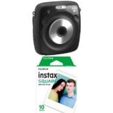 Fujifilm Instax SQUARE SQ 10 Hybride Sofortbildkamera schwarz - 1