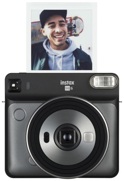 Instax SQ6 Sofortbildkamera in grau