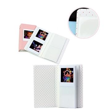 jxe 64Taschen Fotoalbum Book für Fujifilm Instax Square SQ10Sofortbildkamera Filme - 3