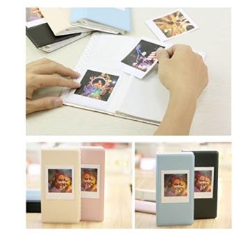jxe 64Taschen Fotoalbum Book für Fujifilm Instax Square SQ10Sofortbildkamera Filme - 4