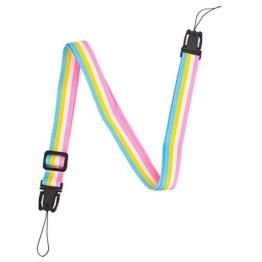 sunmns Kamera Neck Schultergurt Gürtel für Fujifilm Instax Mini 9, 8, 90, 8+, 7S und quadratisch SQ10Instant Film Kamera, Rainbow - 1