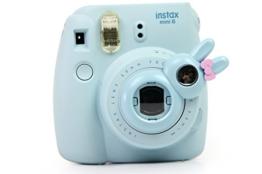 TaiYaun Mini Selfie Objektiv für Fujifilm Instax Mini 8 / 8+/ Fujifilm Instax Mini 9 / Fujifilm Instax Mini 7s (Blau ,Mini8/ Mini 7SKaninchen) - 1