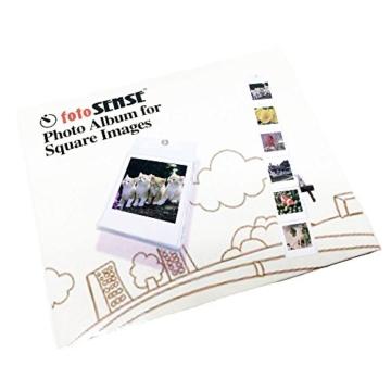 Fujifilm Instax FILM Bundle Pack (40Aufnahmen) + Gratis, quadratisch Album - 2