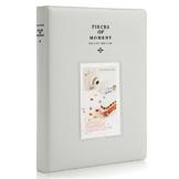 CAIUL Stücke von Moment Mini Foto Album Für Fujifilm Mini 9 8 90 70 7s 25 26 50s Film (128 Fotos,Rauchiges Weiß) - 1