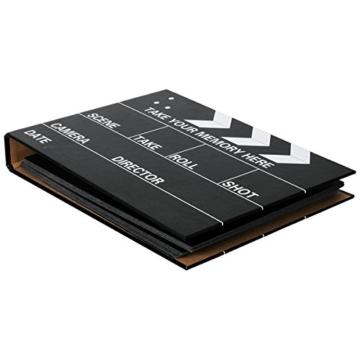 [Fujifilm Instax Mini Foto Album] - CAIUL 50 Seiten DIY Fotohüllen für Mini 70 7S 8 8+ 9 25 26 50 90/Pringo 231/Instax SP-1/Polaroid PIC-300P/Polaroid Z2300 Film (Film Schindel) - 2