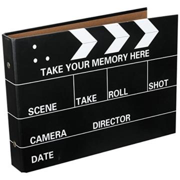 [Fujifilm Instax Mini Foto Album] - CAIUL 50 Seiten DIY Fotohüllen für Mini 70 7S 8 8+ 9 25 26 50 90/Pringo 231/Instax SP-1/Polaroid PIC-300P/Polaroid Z2300 Film (Film Schindel) - 1