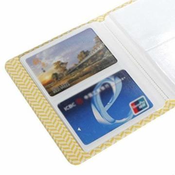 StillCool FotoAlbum Fujifilm Instax Mini Fotobuch Fotohüllen erstellen Speziell Für Fujifilm Instax Miini Film 7S/8/25/50/90, 14*11cm, 64 Seiten,Rosa, blau, beige (beige) - 5