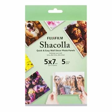 Fuji Shacolla Box für Fotos 13x18 cm, 5 selbstklebende Tafeln in der Box - 1