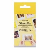 Fuji Shacolla Box für Instax Mini Bilder 5 selbstklebende Tafeln in der Box - 1