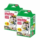 Fujifilm Instax Mini Film (40Aufnahmen) Multi Pack für Mini 8–9& Alle Fuji-Mini-Kameras - 1