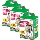 Fujifilm Instax Mini Film Bundle Pack (60 Aufnahmen) Mini für Instax 8 50s 25 7s 90 300 - 1