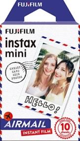 Fujifilm Instax Mini Instant Film, Airmail, Einzelpackung - 1