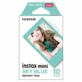Fujifilm Instax Mini Instant Film, Blau, Einzelpackung - 1