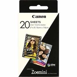 Canon 3214C002 Zink Papier ZP-2030, 20 Blatt für Zoemini - 1