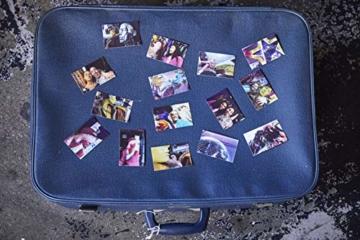Canon Zoemini C digitale 5 MP Sofortbildkamera (Sucher, Blitzlicht, Micro-SD Kartenslot, Selfie Spiegel (11x8 mm), 5 x 7,6 cm Aufkleber, ZINK-Druck tintenfrei), seaside blue - 3