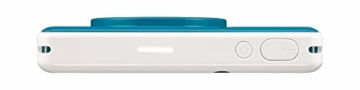 Canon Zoemini C digitale 5 MP Sofortbildkamera (Sucher, Blitzlicht, Micro-SD Kartenslot, Selfie Spiegel (11x8 mm), 5 x 7,6 cm Aufkleber, ZINK-Druck tintenfrei), seaside blue - 6