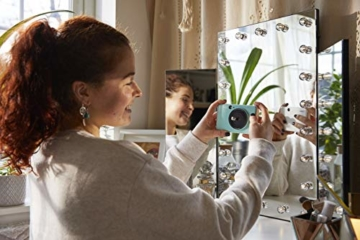 Canon Zoemini C digitale 5 MP Sofortbildkamera (Sucher, Blitzlicht, Micro-SD Kartenslot, Selfie Spiegel (11x8 mm), 5 x 7,6 cm Aufkleber, ZINK-Druck tintenfrei), mint green - 7