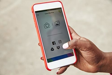 Canon Zoemini Mobiler Mini-Fotodrucker (Akku, 5 x 7,5cm Fotos, ZINK-Druck tintenfrei, für Handys iOS und Android via blautooth, 160 g) rosegold - 8